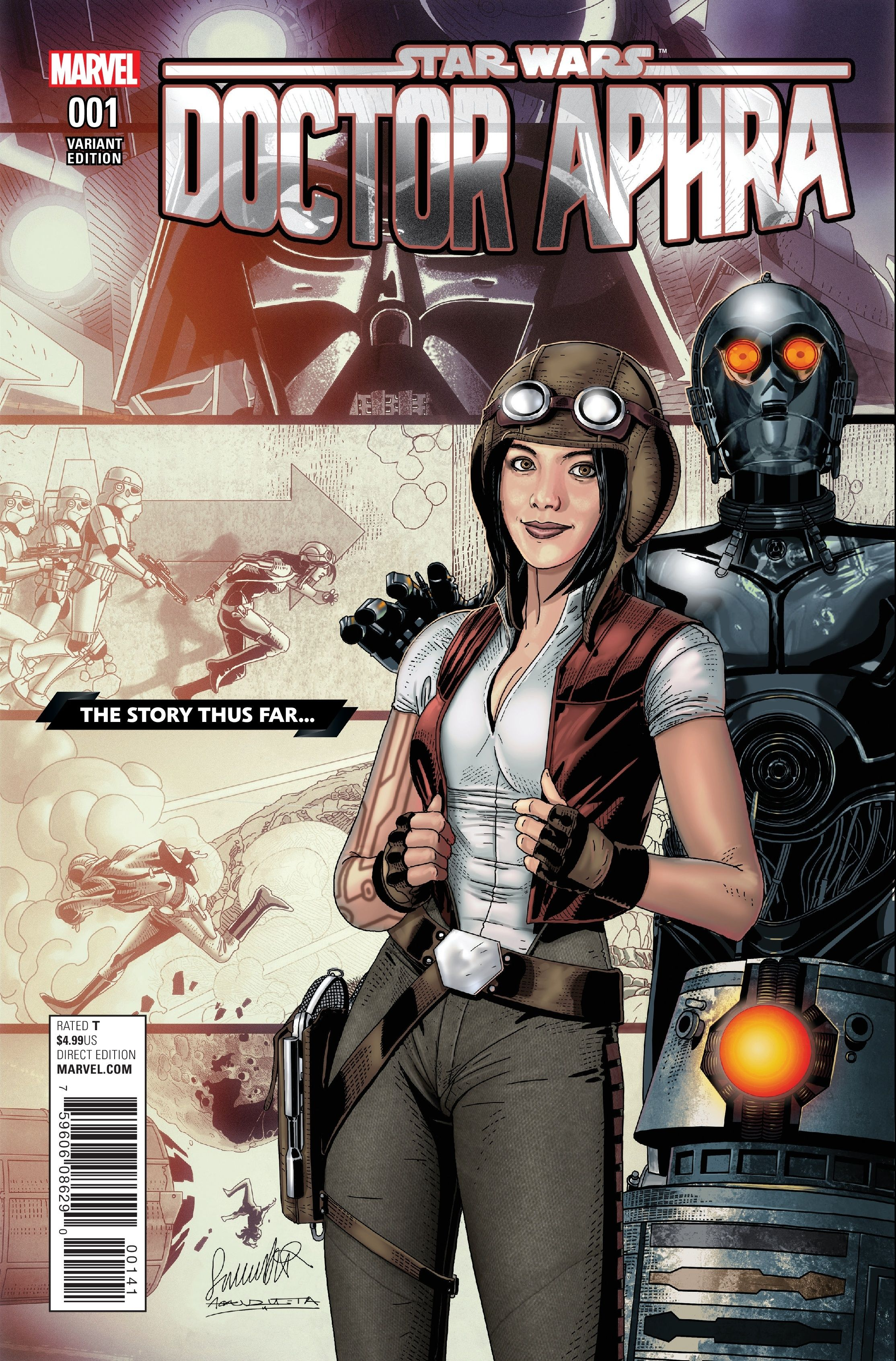 Doctor Aphra Cosplay | Preview: DOCTOR APHRA #1 - Comic Vine