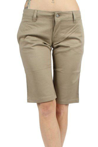 Dickies Juniors 13 Inch Bermuda Short Khaki 9 >>> Read more reviews of the product by visiting the link on the image.