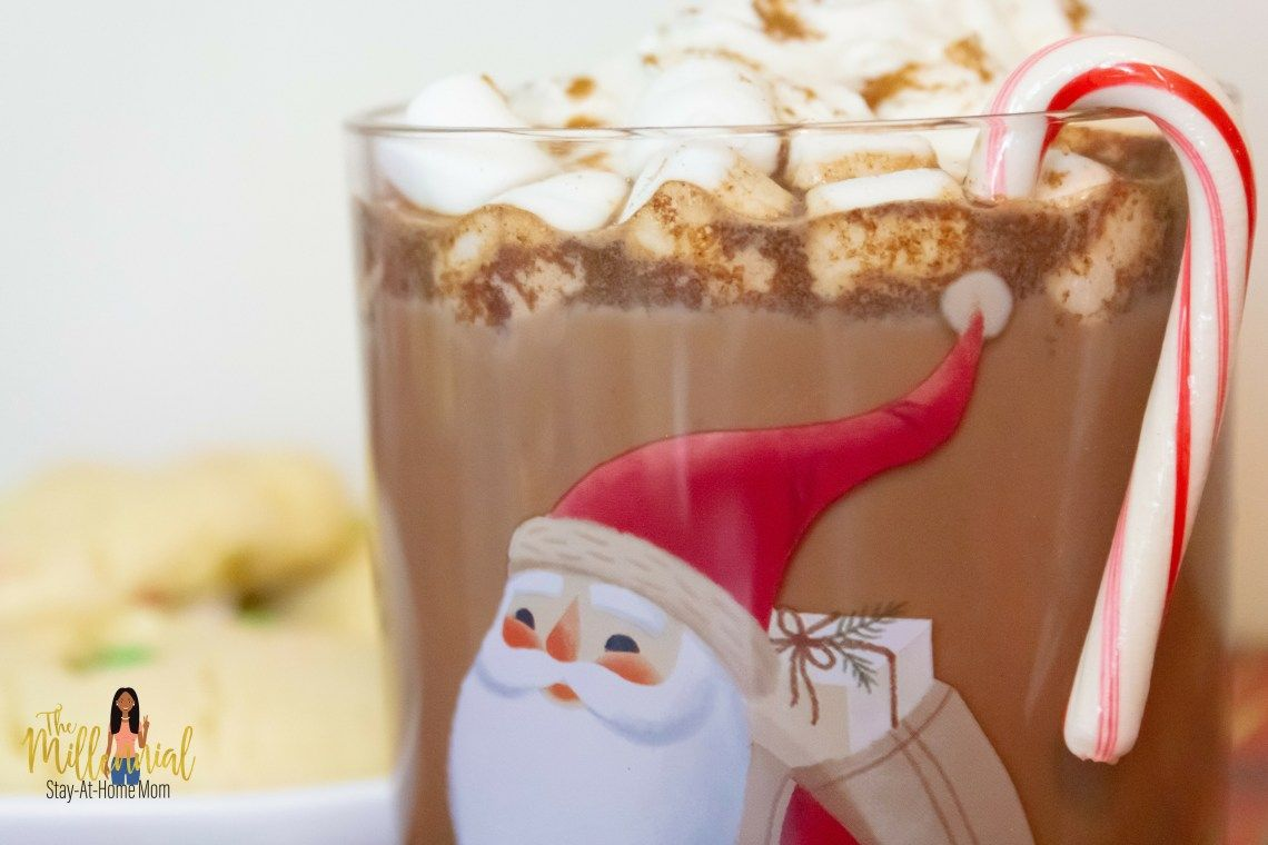 The Perfect Hot Chocolate For Two - The Millennial Stay-At-Home Mom #stayathome