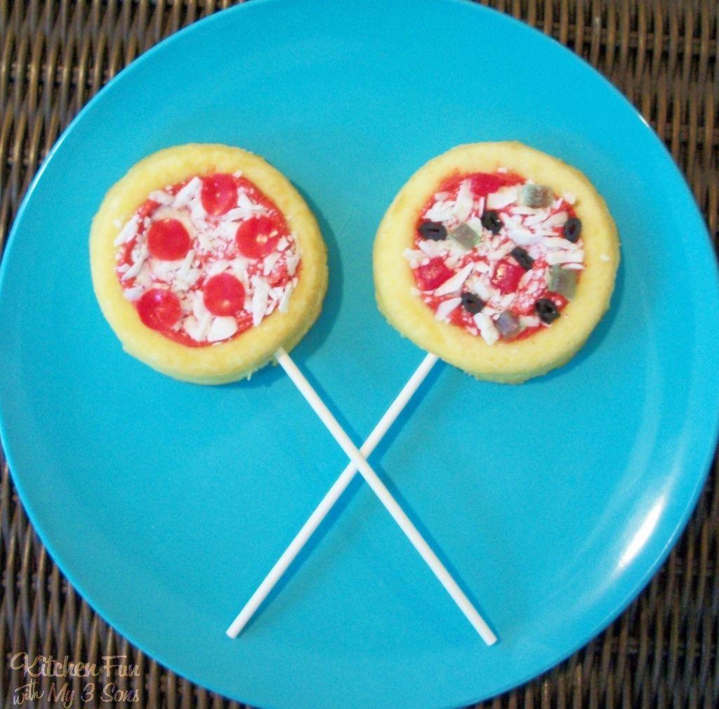 Pizza Cake Pops Sweet Pizza Cake Pops Food