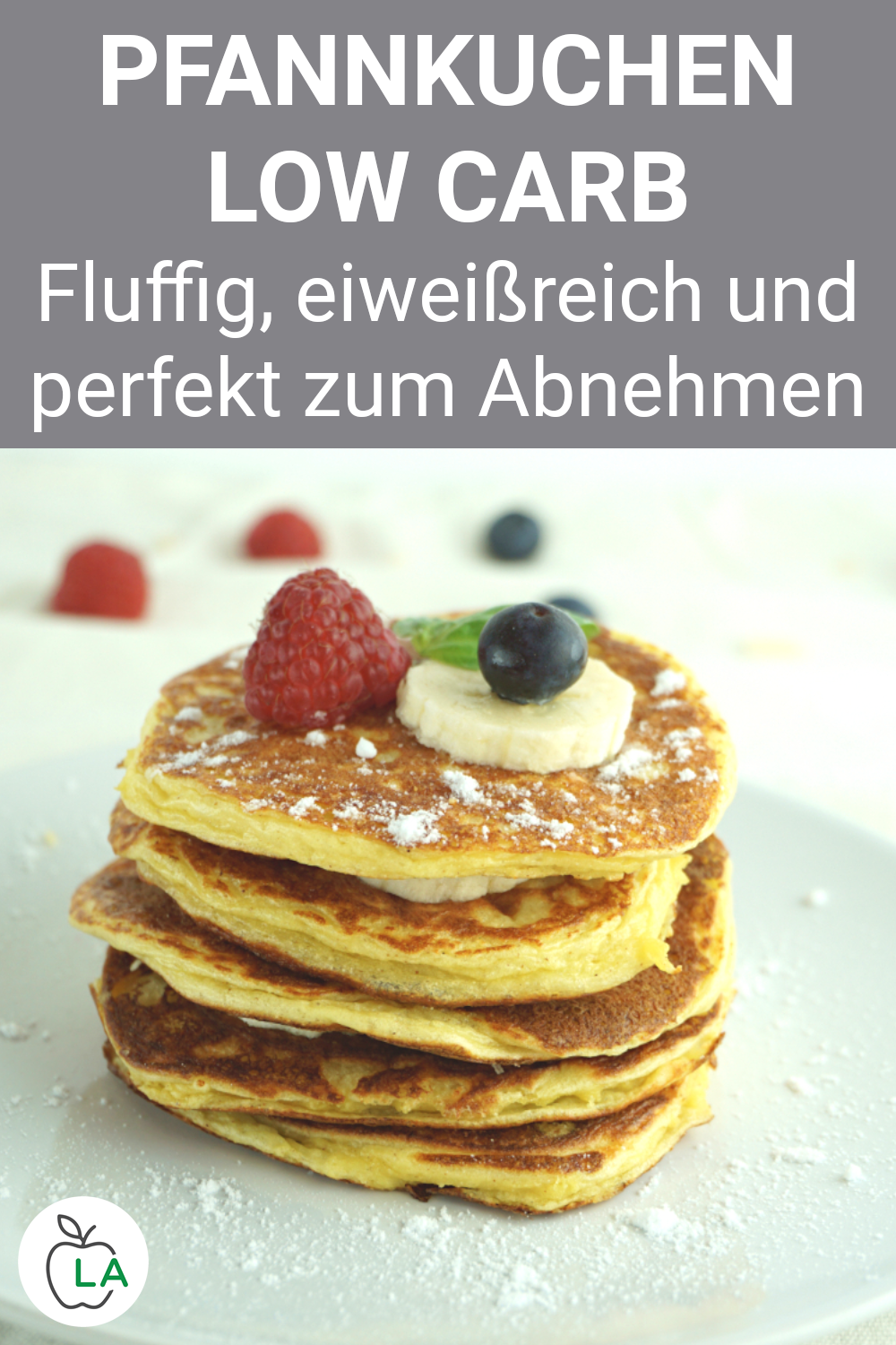 Low carb pancakes with curd cheese and almond flour – recipe for losing weight -…