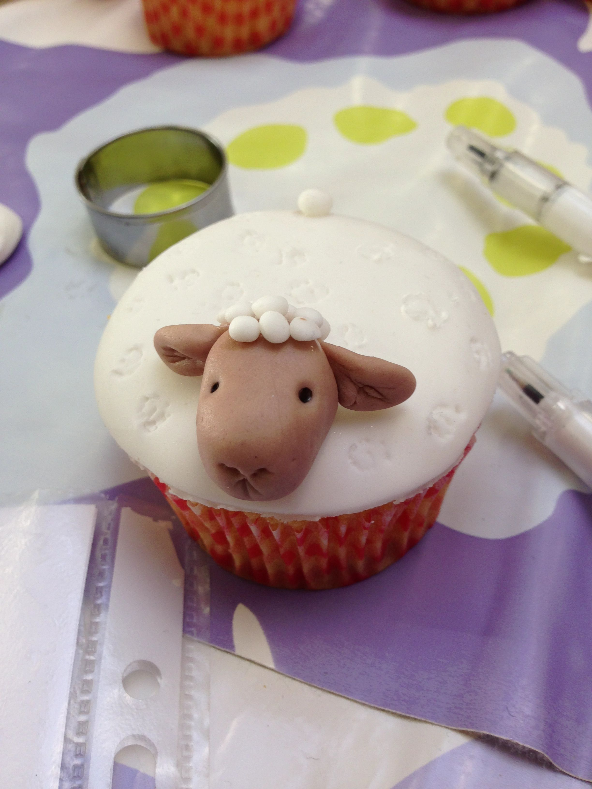 Cup-cake mouton