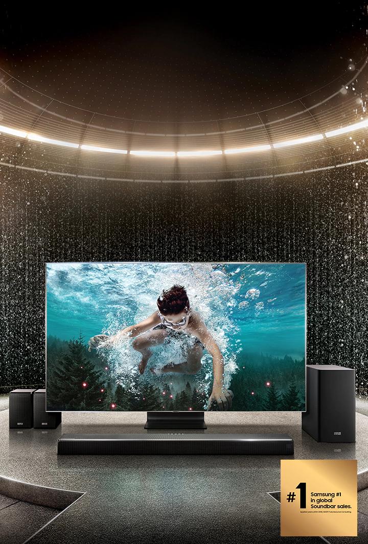 75 Flat Screen Tv Home Theatre System Google Search Home Tv Home Theater System Home Theater
