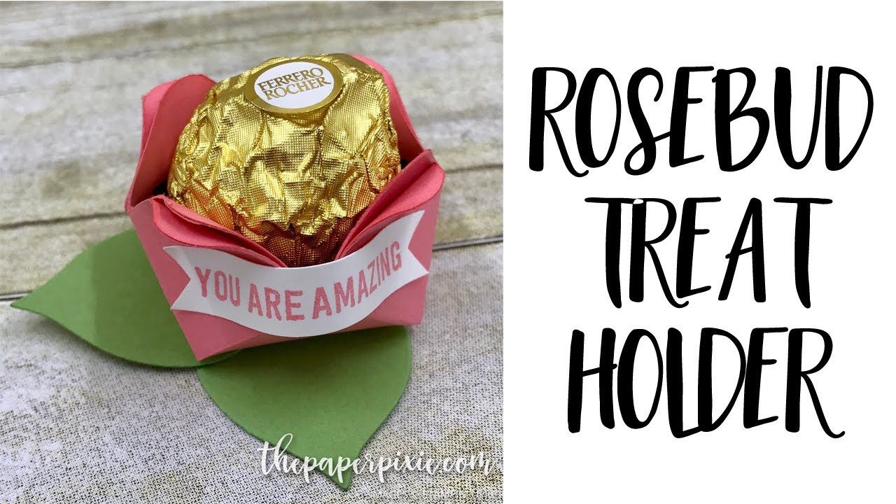 Rosebud Treat Holder