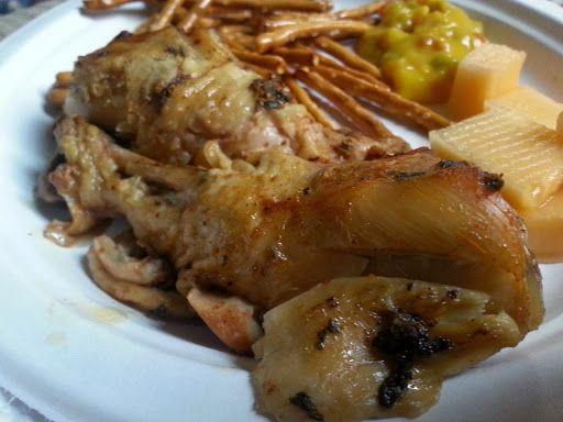 Aunt Fee Chicken With Chicken Drumsticks, Paprika, Garlic Salt, Parsley, Pepper