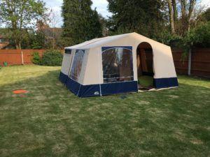 Trailer Tent A Frame Storage Box