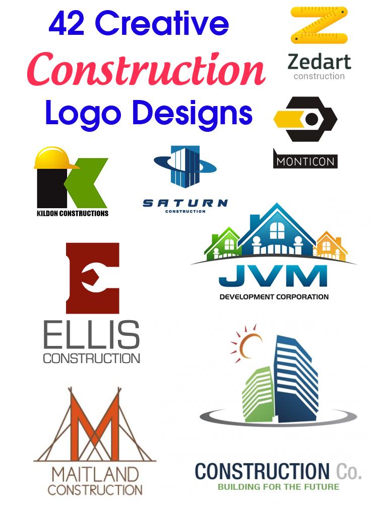 42 Creative Construction Logo Designs | Logo evolution