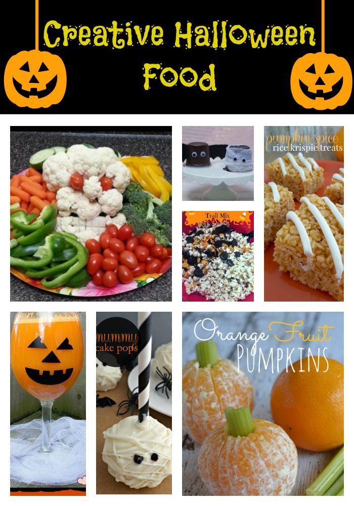 Creative Halloween Food and Fall Fun Halloween foods, Food and Recipes - fun halloween ideas
