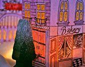 CHRISTMAS VILLAGE-paper lantern
