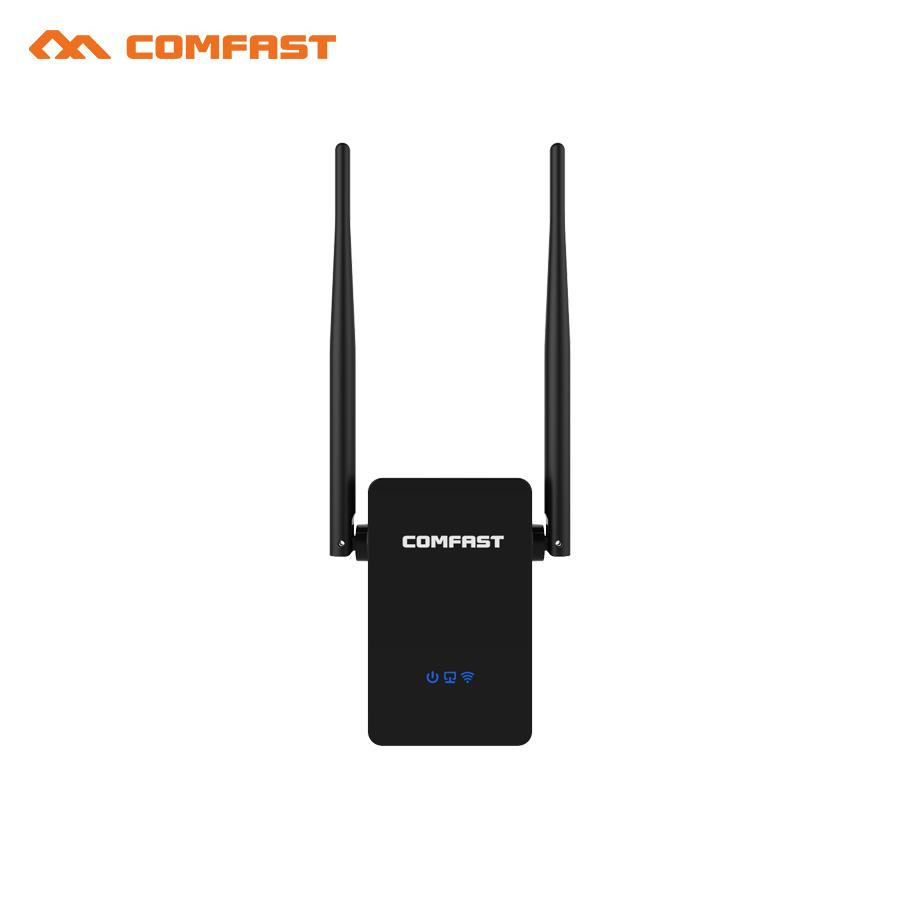 New! COMFAST CF-WR750ACV2 Wireless WIFI Repeater 750Mbps Routers ...