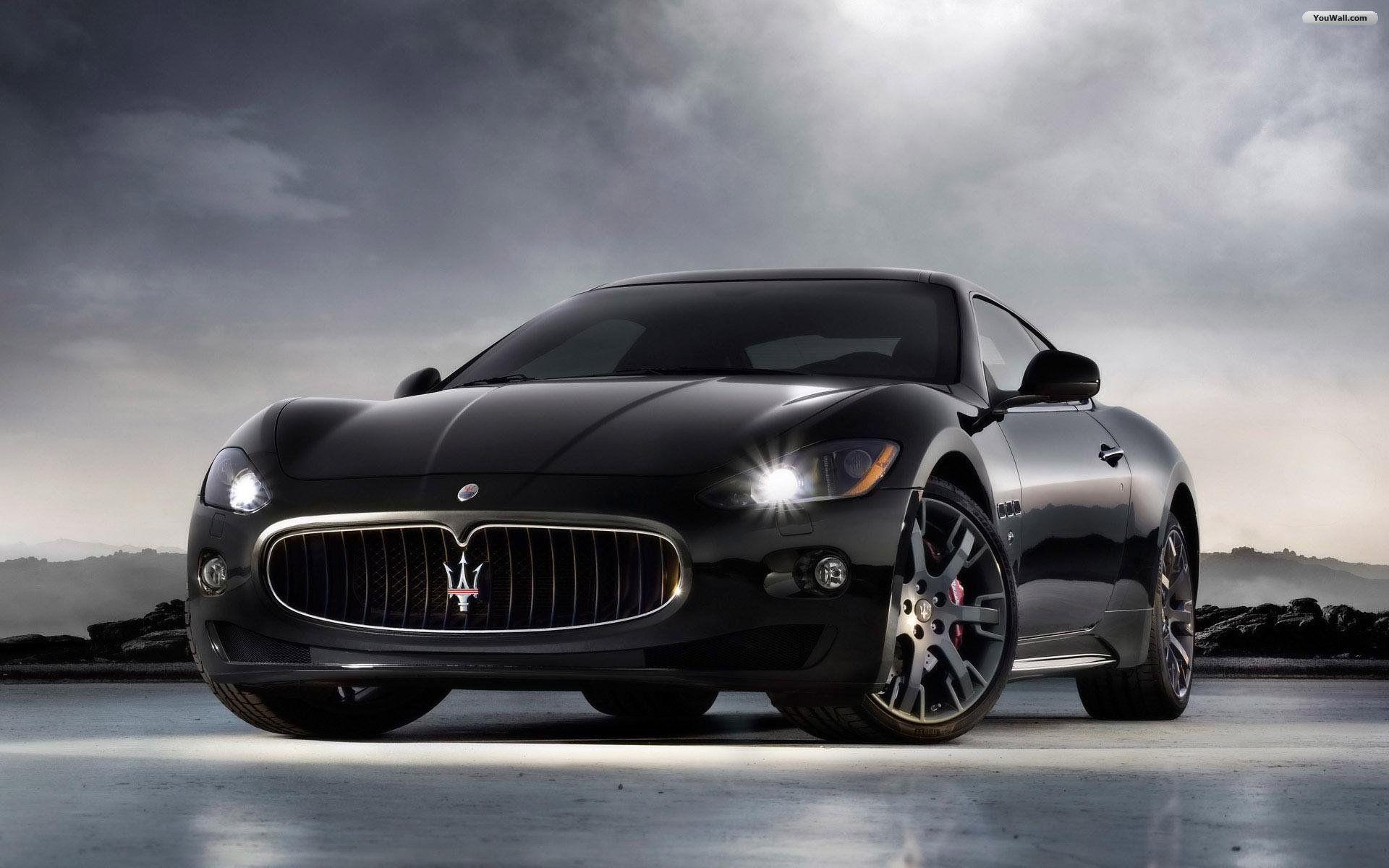 Black Maserati Wallpaper Maserati Granturismo Maserati Car Maserati