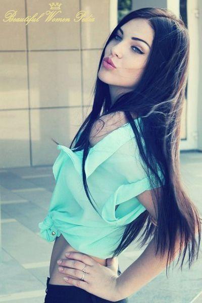 Dasha Dereviankina Hair Goals Pinterest Hair Dark Hair And