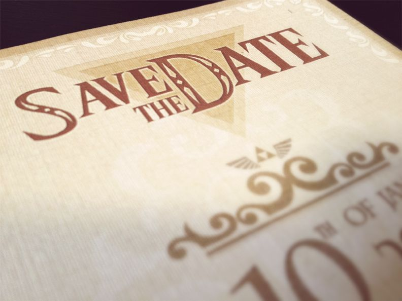 Legendary Save the Date Awesomeness