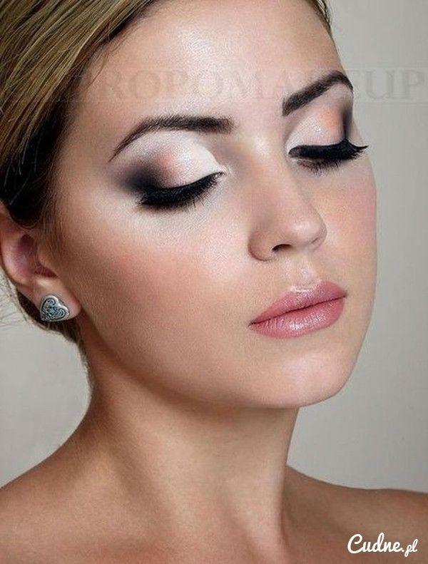Delikatny Makijaż ślubny Makijaż Pinterest Wedding Makeup