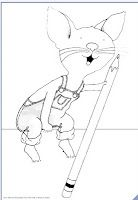 33++ If you take a mouse to the movies coloring page free download