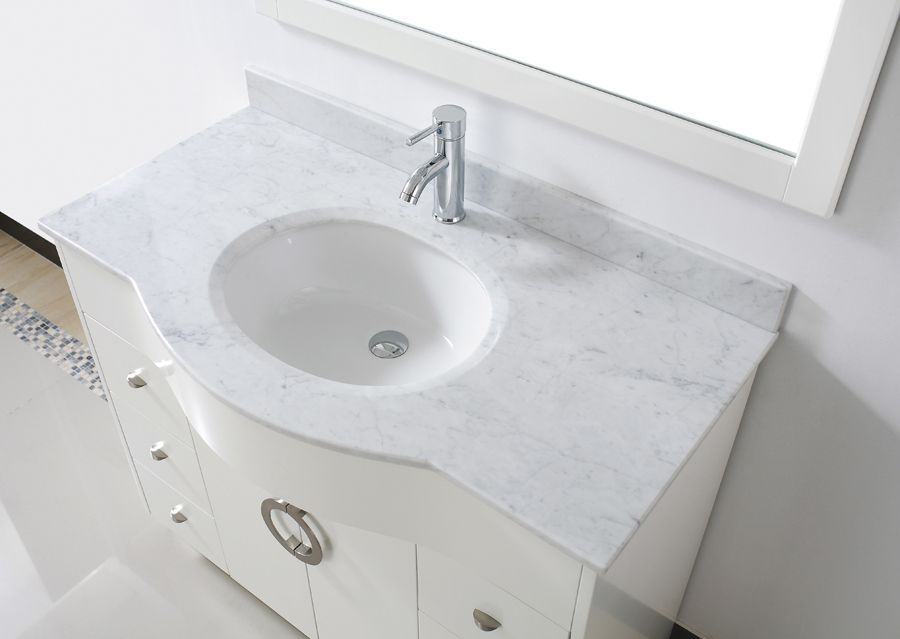 marble sink countertop - Google Search Small Bathroom Decorating