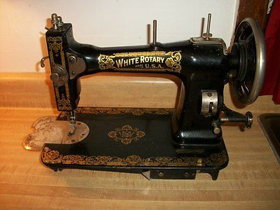 Antique White Rotary Family Rotary Sewing Machine Fr40 To Fascinating 1913 White Rotary Sewing Machine