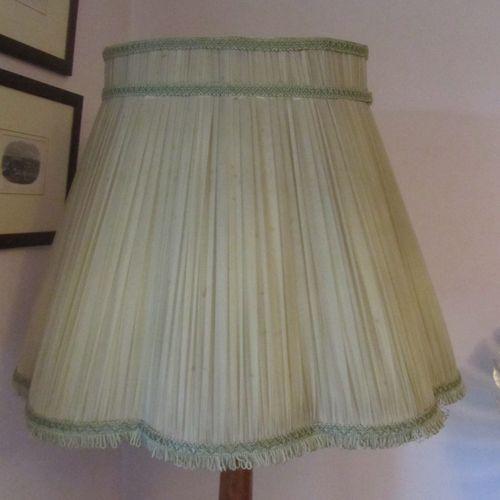 Vintage Pale Green Yellow Chiffon Standard Lampshade 45 00
