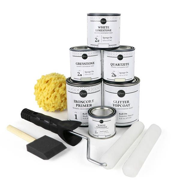 Giani White Diamond Countertop Paint Kit Countertop