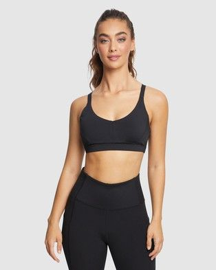 Please Note: THE Iconic IS Unable TO Ship This Product TO NEW Zealand. The Adjustable Low Impact Sports Bra from Rockwear