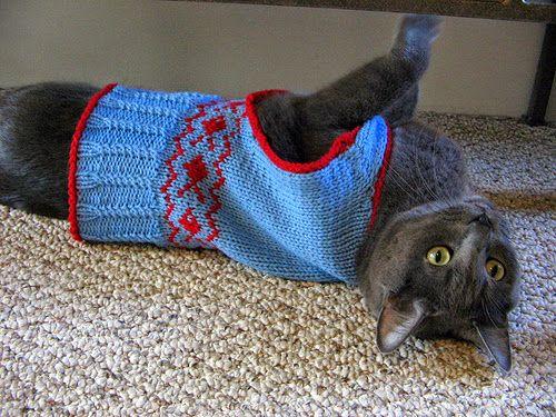12 patrones prendas de crochet para Perros y Gatos - Patrones ...