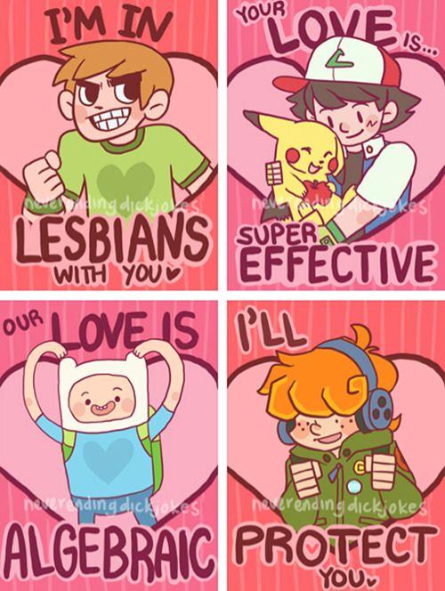 Geeky Valentine Designs Geekery Pinterest Valentines Nerdy