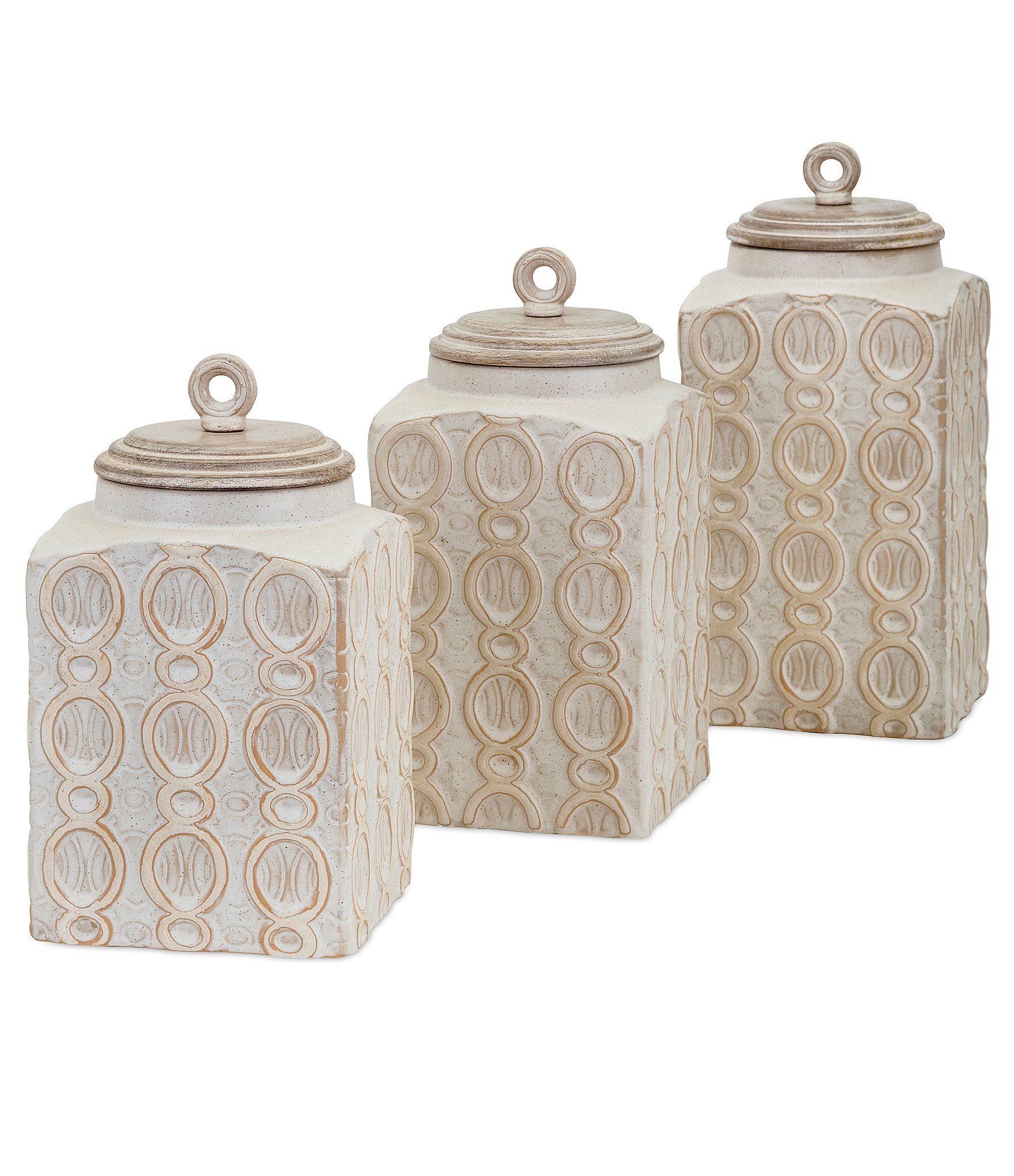 Imax Dreanna Canisters Set of 3