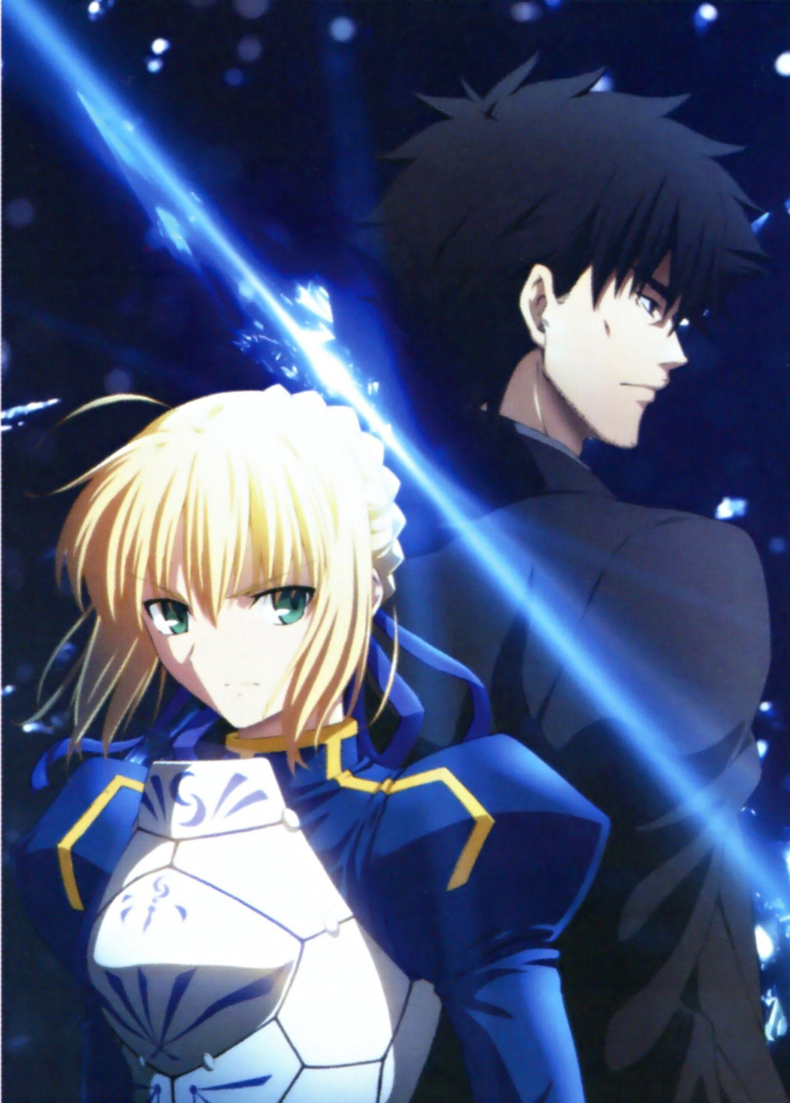 Kiritsugu and Saber Fate zero, Fate, Fate stay night