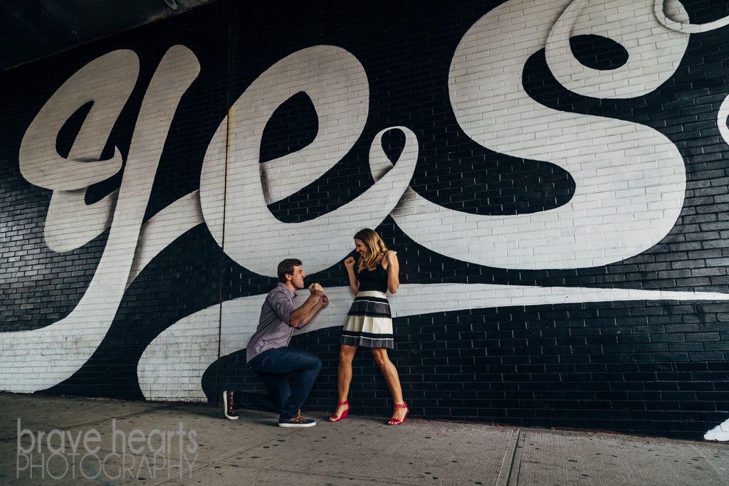 Graffiti That Says Brooklyn