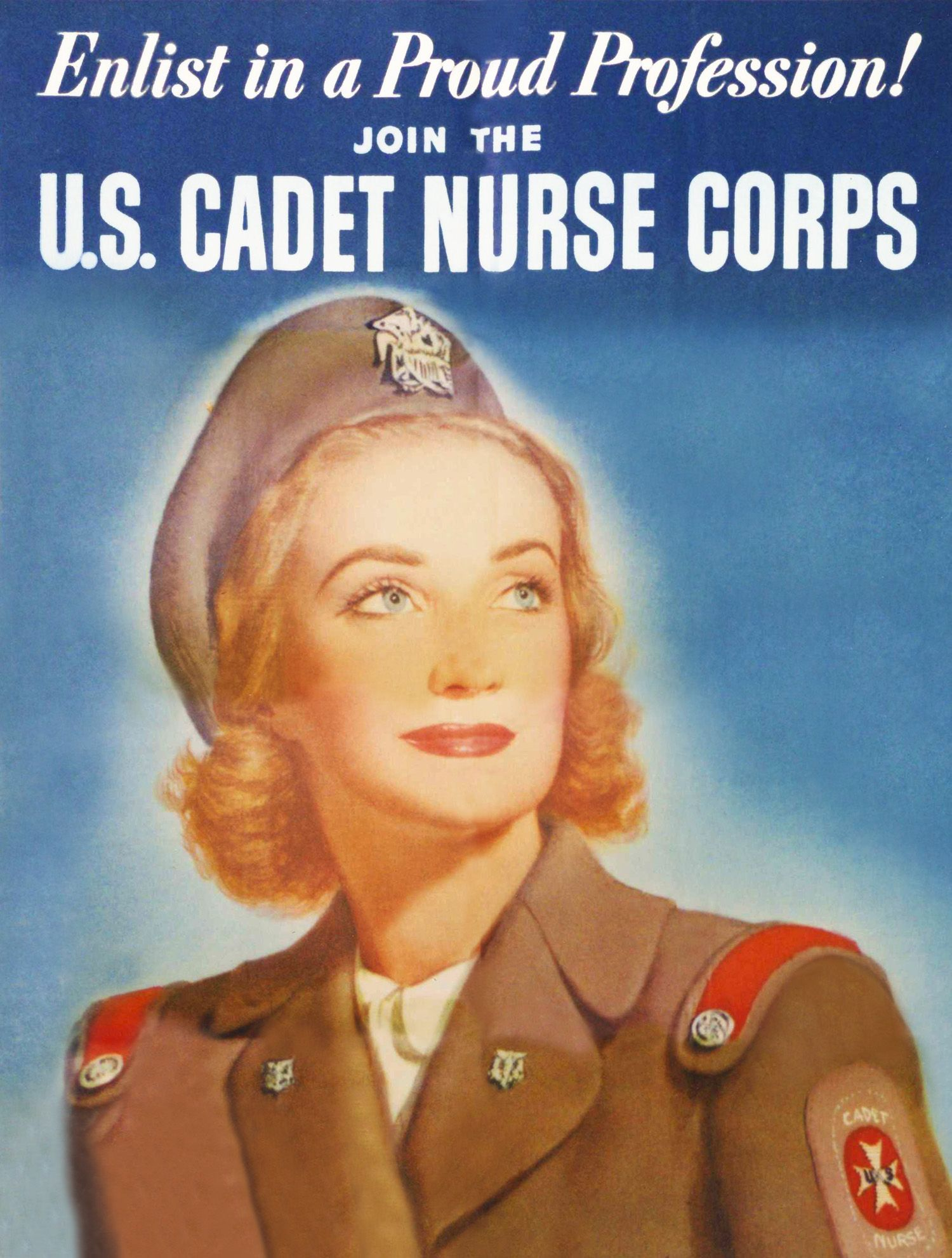 Cadet Nurse Corps Propaganda  Wwii Women, Women In -1995