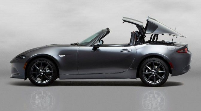 Can you guess what the RF stands for in the Mazda MX 5 RF