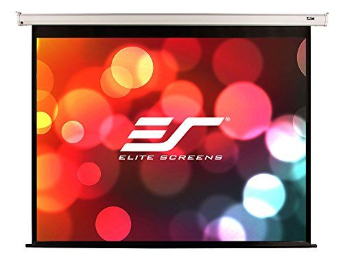 Elite Screens Spectrum 120 Inch 4 3 Home Theater Electric Motorized Drop Down Projector Projec Electric Screen Projection Screens