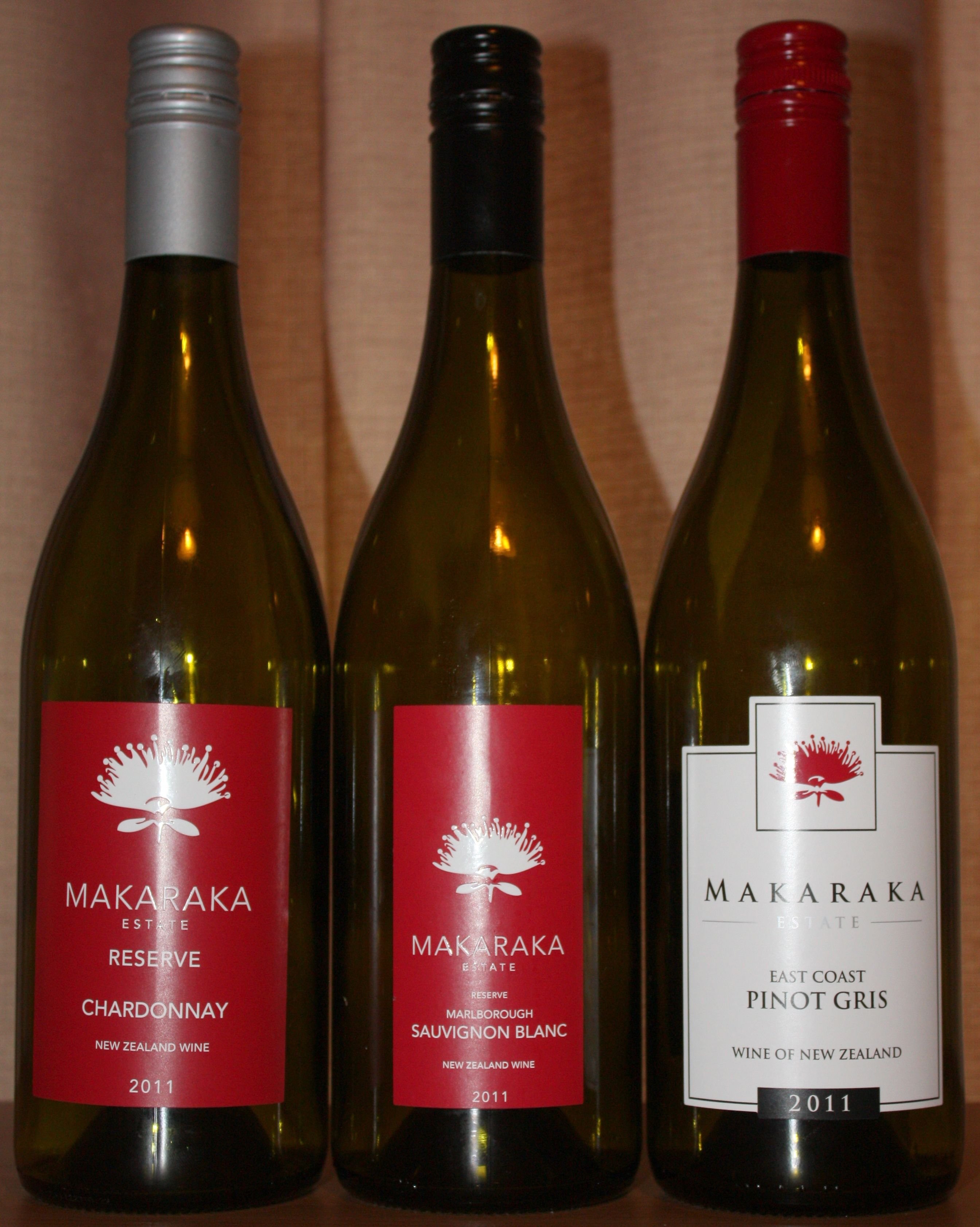 Makaraka Estate Wines New Zealand Wine Sauvignon Blanc Pinot Gris