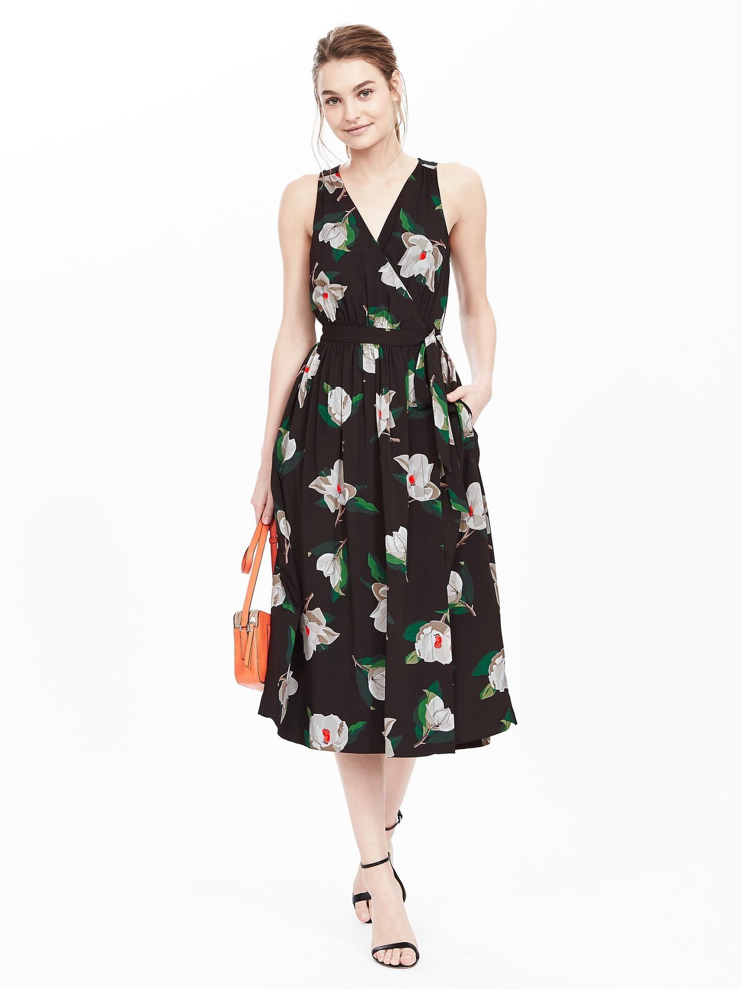 11++ Banana republic floral off shoulder dress inspirations
