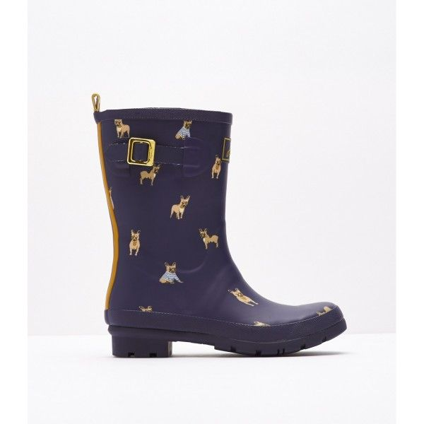 Our mid-height rain boots, that is perfect for all calf sizes, is splashed  with heritage-inspired prints. For a jaunt outdoors when puddles are  present, ...