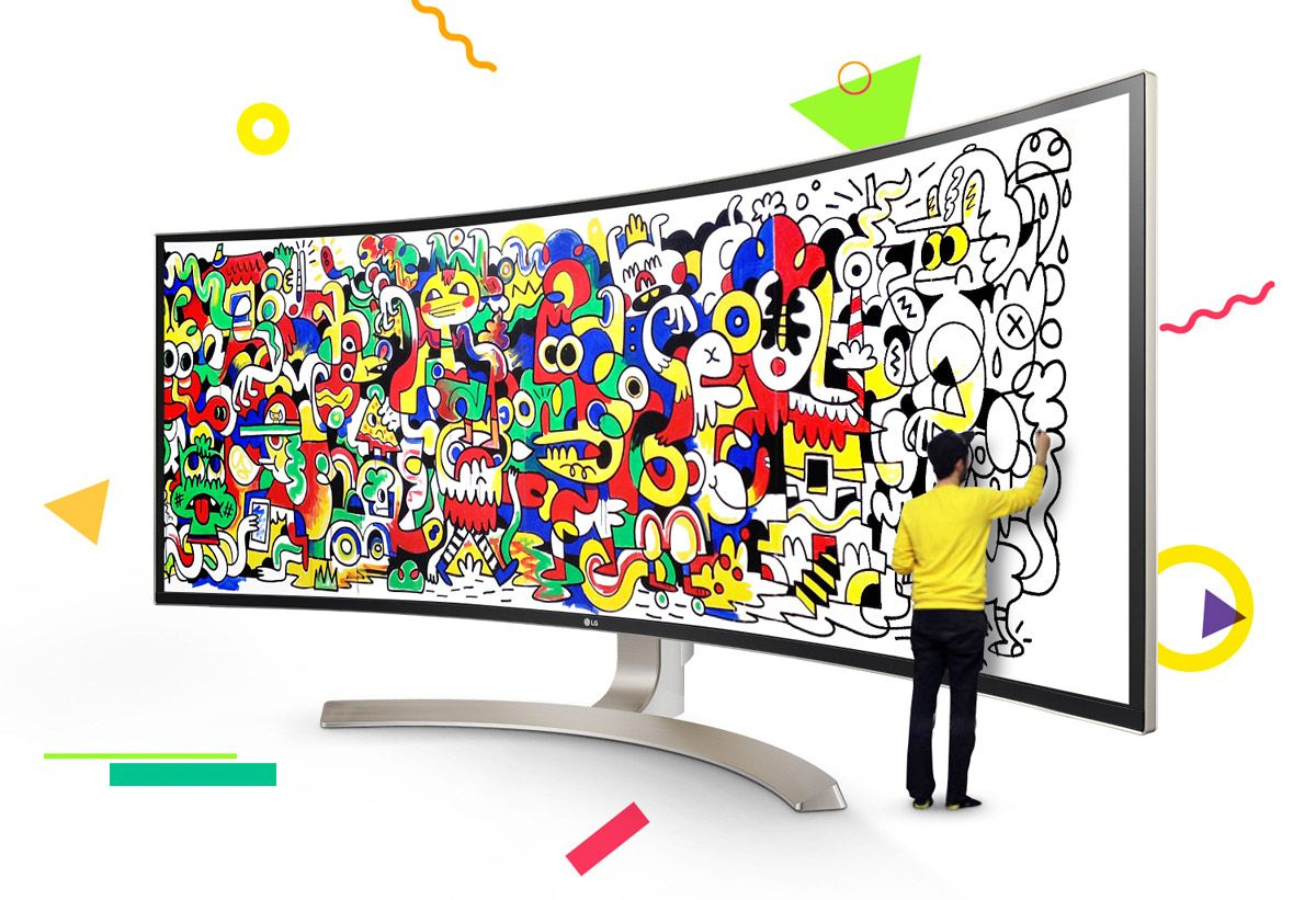 Lg Celebrates New 38 38uc99 Ultrawide Monitor With Creative Competition Creative Competition Contest Design Canvas