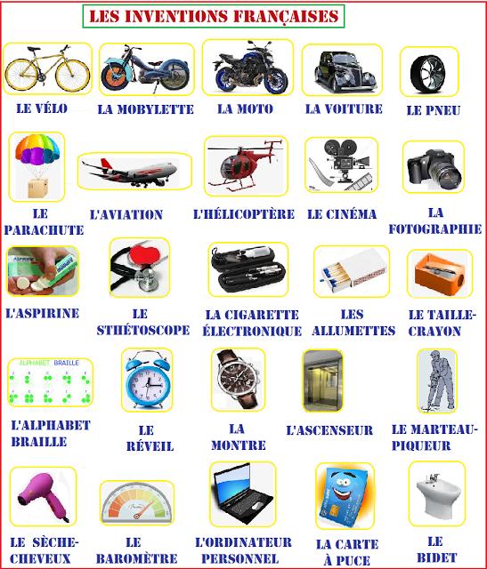 Bien Sur Inventions Francaises Les Inventions France Inventeurs Francais
