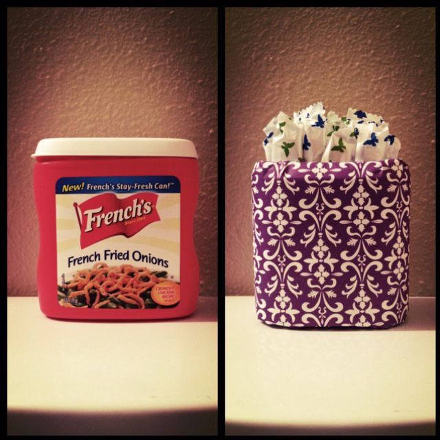 Container  Scrapbook Paper  5 Min  Decorative Tampon Holder Glamorous Can You Go To The Bathroom With A Tampon In Inspiration Design