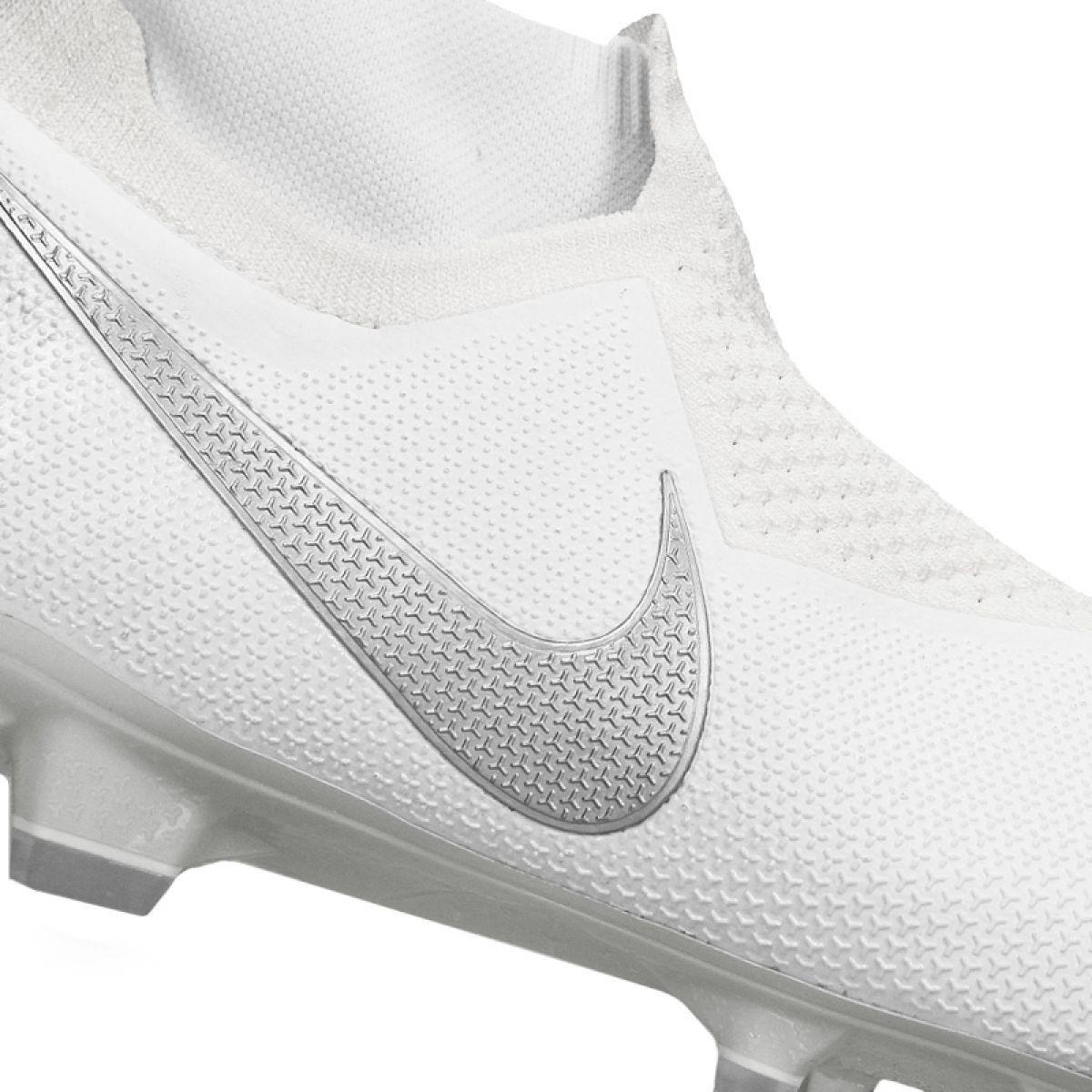 Corks Football Sport Nike Nike Phantom Vsn Elite Df Fg M Ao3262 100 Football Shoes White White Football Shoes Nike Shoe Laces