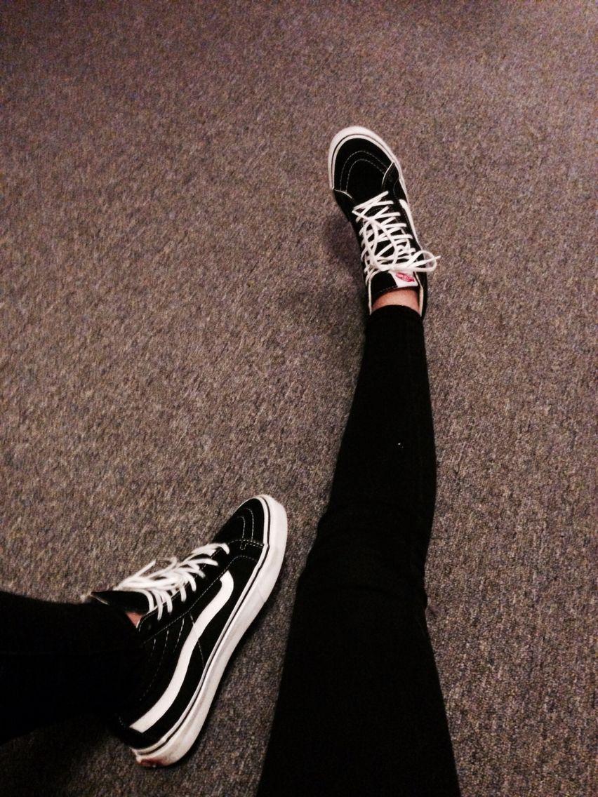 Vans Skinny Jeans Gaya Grunge Sepatu Wanita Gaya Model Pakaian