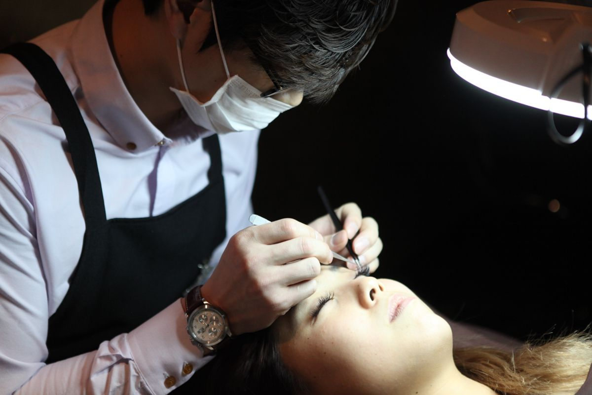 Our Eyelash extensions are available in a wide range of
