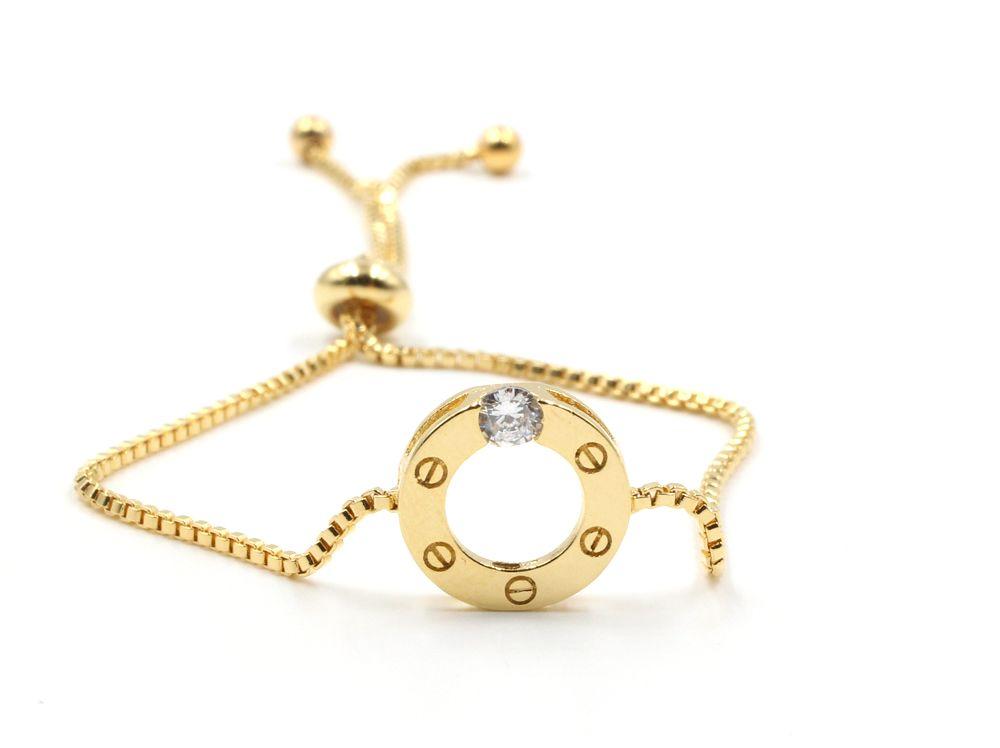 اسوارة سحاب كارتير مدوره متوفر باللون الفضي والذهبي سحاب قابله للشد والتحكم بالقياس صنع في كوريا Gold Necklace Gold Jewelry
