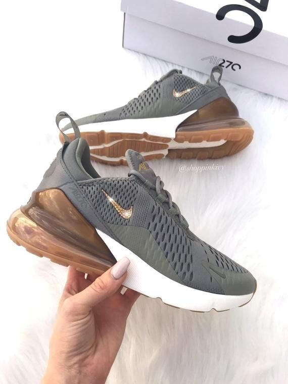 Swarovski Nike Air Max 270 Shoes Blinged Out with Swarovski