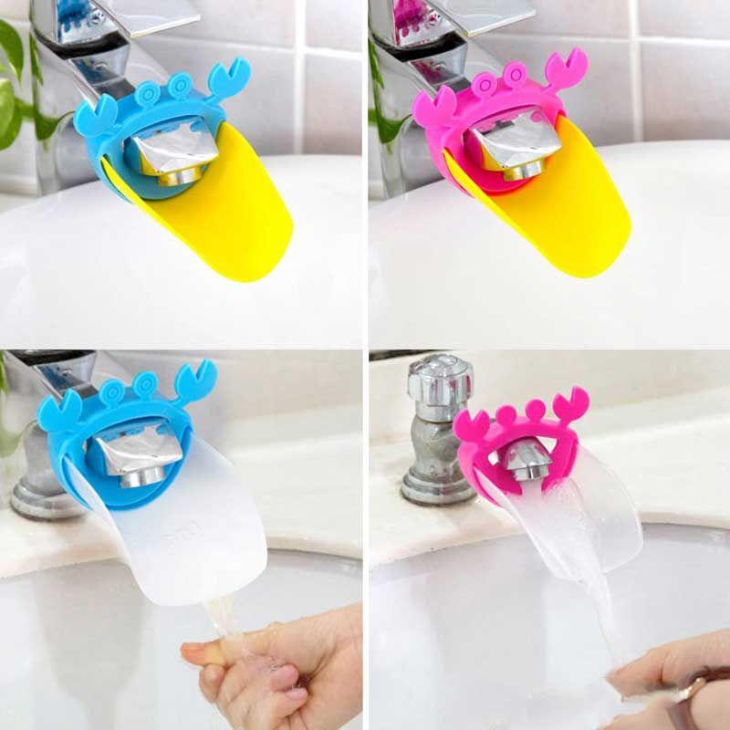 Cute Faucet Extender Toddlers Kids Babies Sink Handle Extenders ...