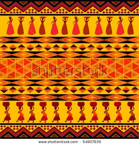 Tribal Design African Art