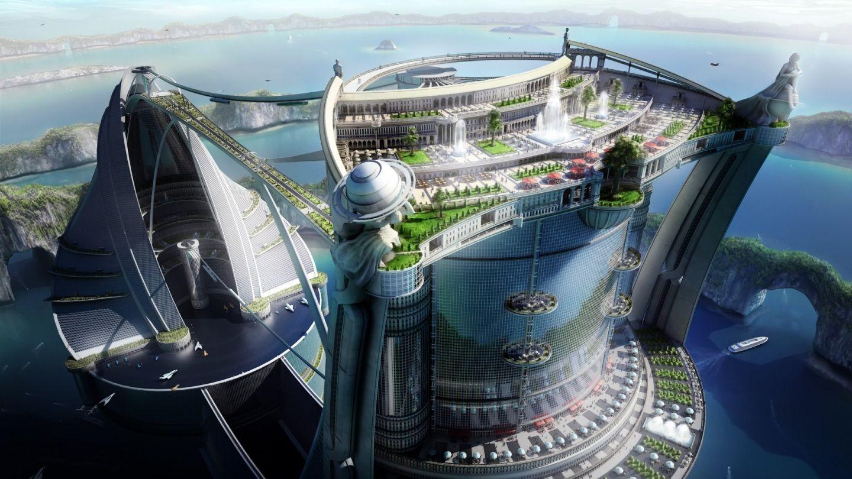 Future City Hd Wallpaper Futuristic Wallpapers