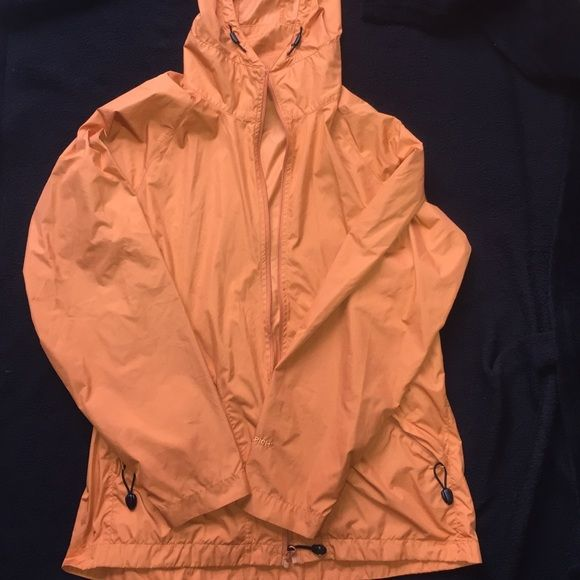 Woolrich light sport jacket Very light sport- jacket.Two zip pockets and a compass in the zipper.Orange color Size S Woolrich Jackets & Coats Utility Jackets