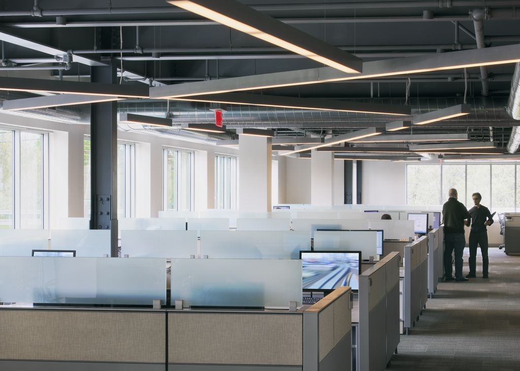 Office Tour: Autodesk Offices  Waltham, MA | Open ceiling ...