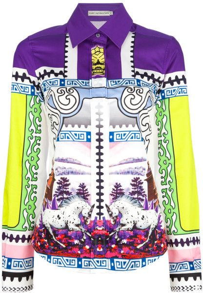 MARY KATRANTZOU Printed Tshirt