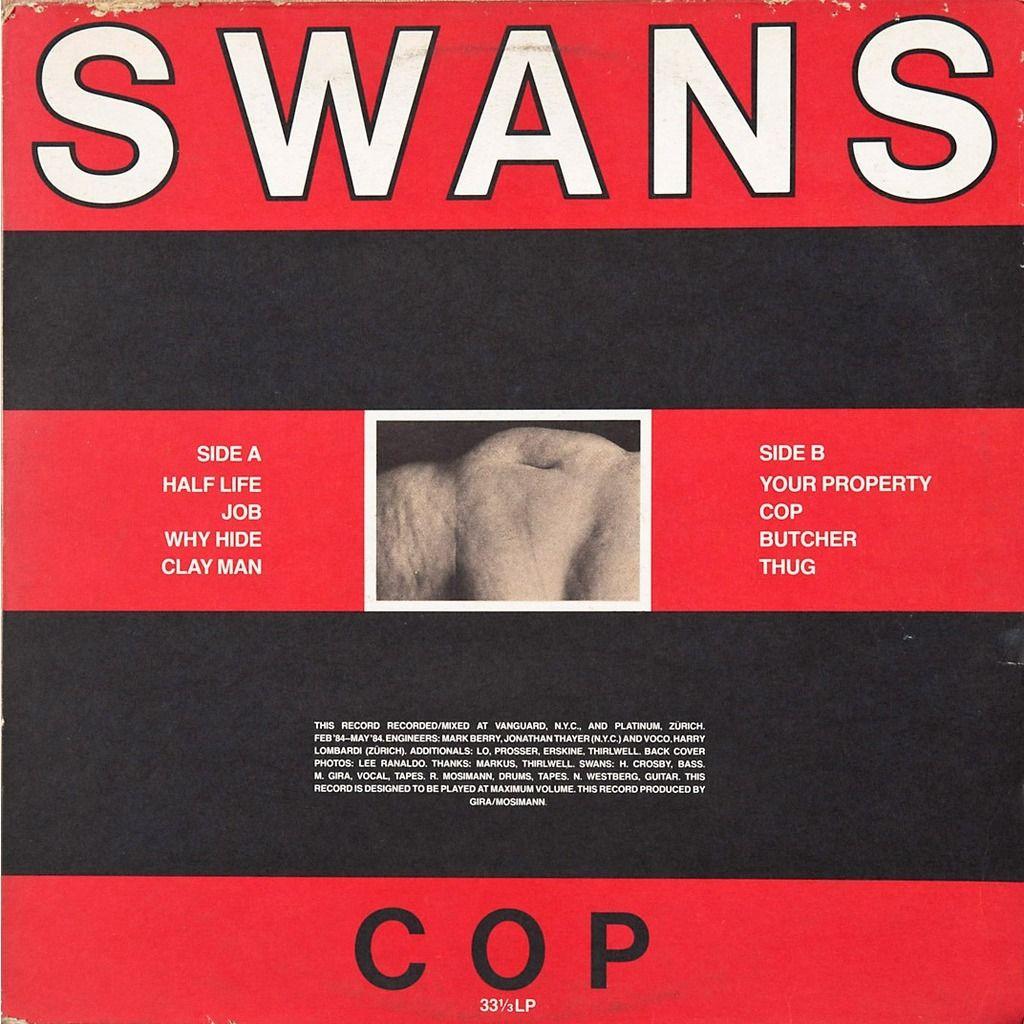 Swans - Cop | Segway to Heaven - Album Art | Pinterest